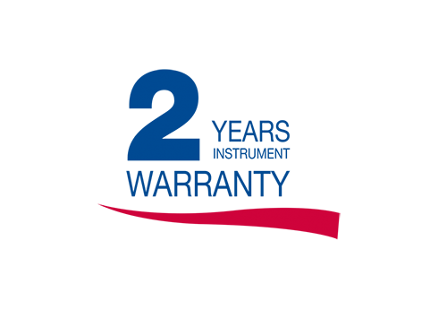 2 YEAR WARRANTY: Included